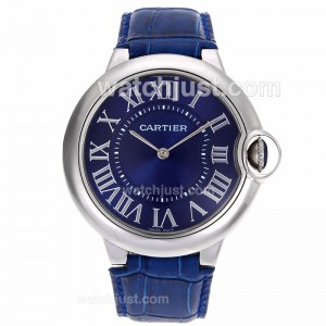 Replica Cartier Ballon Bleu De Cartier Blue Dial