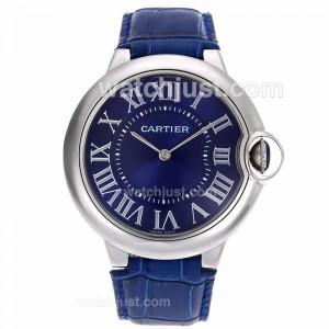 Replica Cartier Ballon Bleu De Cartier Blue Dial