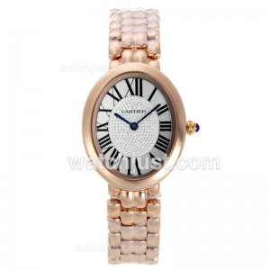 Replica Cartier Baignoire Full Rose Gold