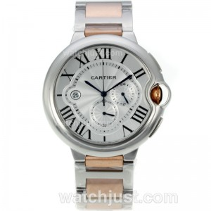 Replica Cartier Ballon Bleu De Cartier Two Tone