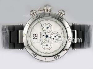Replica Cartier Pasha Automatic White Dial