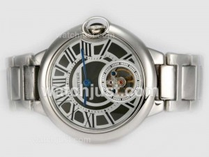 Replica Cartier Ballon Bleu De Cartier Tourbillon Manual Winding