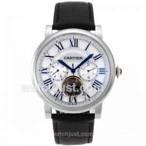 Replica Cartier Ballon Bleau De Cartier Tourbillon Automatic