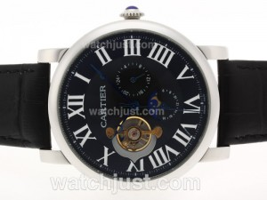 Replica Cartier Ballon Bleu De Cartier Tourbillon Automatic