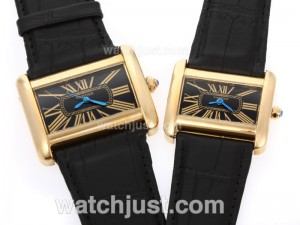 Replica Cartier Classic Gold Case