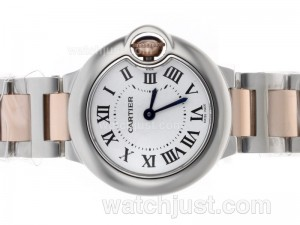 Replica Cartier Ballon Bleu De Cartier Swiss Eta Movement Two Tone