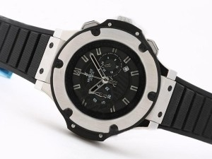 AAA Replica Great Hublot Big Bang King Working Chronograph SS Case