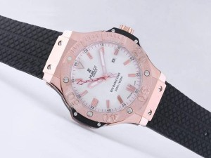 AAA Replica Perfect Hublot Big Bang King Automatic Rose Gold Case With White Dial Watches