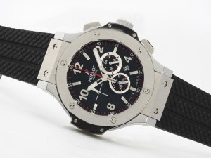 AAA Replica Gorgeous Hublot Big Bang Working Chronograph With Black Dial Same Structure As ETA 7750 Movement Watches