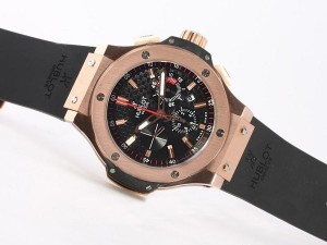 AAA Replica Modern Hublot Big Bang King Chronograph Asia Valjoux 7750 Movement Rose Watches