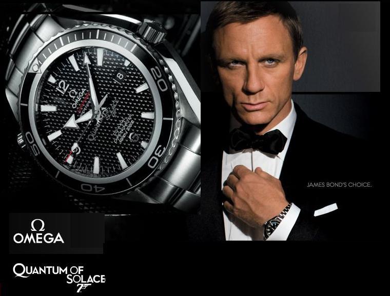OMEGA Seamaster 007 : Уникальные точные копии эксклюзивных наручных швейцарских часов