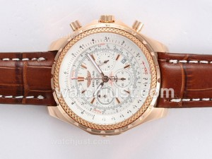 Replica Breitling For Bentley Motors Working Gold Casing