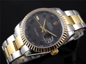 Rolex-Date-Just-Roma-Number-Replica-Watches