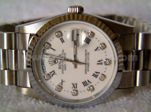 Rolex replica watch White Dial